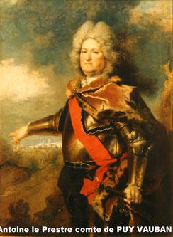 Antoine le Prestre comte de PUY VAUBAN
