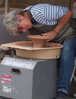Pascale Janet, artisan céramiste à poitiers 86