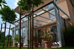 Licht, Luft, Sonne genießen mit einem Terrassen von Häusler Holzbaudach