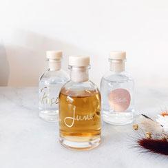 Studio Lolo - Glazen flesjes 50ml