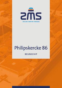 Datasheet scheepstype Philipskercke 86
