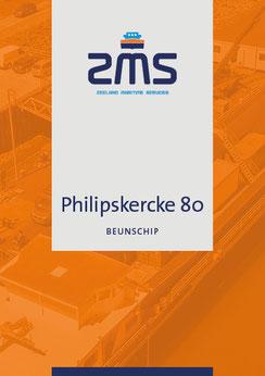 Datasheet scheepstype Philipskercke 80