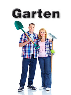 Alles für den Garten vorrätig, von Pflanzen, Sämereien bis zu Erden und Steine.