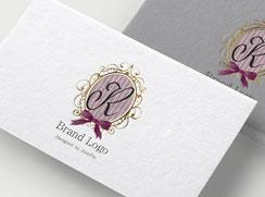 JourFin ロゴマーク ロゴ 名刺 名刺ロゴ ショップカード ロゴフルオーダー ロゴ制作
