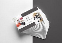 JourFin ロゴマーク ロゴ 名刺 ショップカード ロゴフルオーダー ロゴ制作