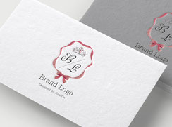 JourFin ロゴマーク ロゴ 名刺 名刺ロゴ ショップカード ロゴフルオーダー ロゴ制作 ショップロゴ