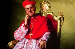 Tarcisio Pietro Evasio Kardinal Bertone ist Mönch der Salesianer.