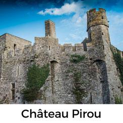 Im Château Pirou an der Westküste der Manche wird das Mittelalter lebendig