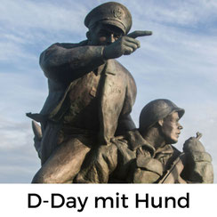 D-Day-Museen in der Normandie mit Hund besuchen