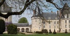 Château d'Azay-le-Ferron à proximité du restaurant gastronomique en Touraine La Promenade au Petit Pressigny - Fabrice Dallais - 1 étoile au Guide Michelin