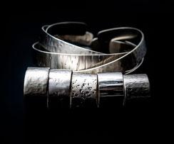 hashka, fusion, bijoux, collection, martelés