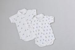 FIRST DRESS 襟付きロンパース 半袖