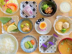 地産食材を中心に12品「板前の技と岡山をご堪能」朝食御膳プラン