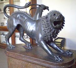 La Chimère d'Arezzo, bronze étrusque
