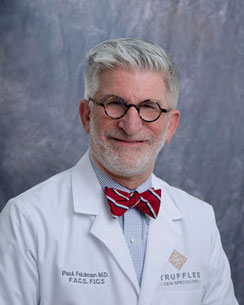 Dr. Paul Feldman of Truffles Vein Specialists is a Registered Physician in Vascular Interpretation and the medical director of truffles vein specialists.