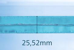 VSG aus ESG Optiwhite 25.52mm klar