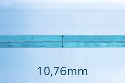 VSG/ESG weiss 10.76 mm