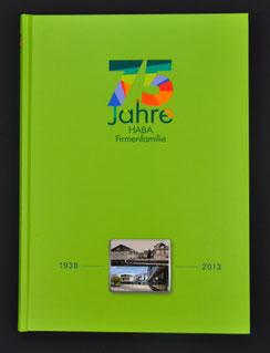 Jubiläumsbuch Haba Firmenfamilie