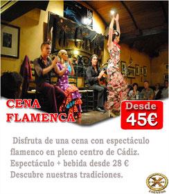 espectáculo flamenco en cadiz