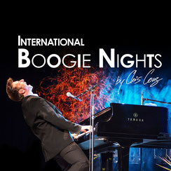 International Boogie Nights by Chris Conz Logo