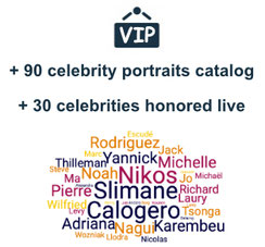 celebrities info show live painting