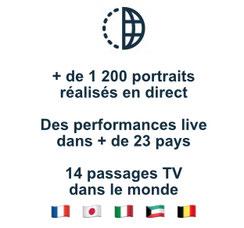 plus de 1200 portraits dans 23 pays au monde
