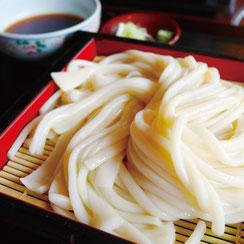 博多胡麻醤油,料理使用例,ざるうどん,博多水炊きさもんじ