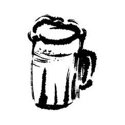 ビール,博多水炊きさもんじ