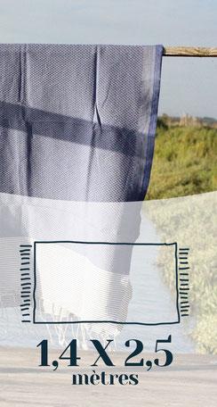Fouta traditionnelle Madhia 1,4x2,5m