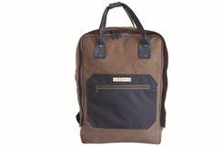 Margelisch canvas laptopbackpack khaki