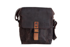 Margelisch leather messenger Bex