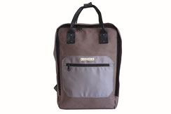 Margelisch canvas backpack grey