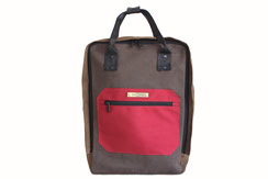 sustainable canvas backpack Wedi from Margelisch