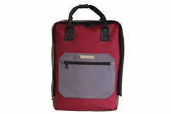 Margelisch cordura laptopbackpack red