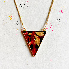 Triangle Ohrstecker Black 45€