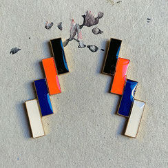 Doppeldoppelrectangular Ohrstecker 59€ (Click foto to see all)