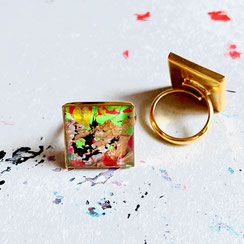 "Hexagon Ring ""Individual Item No2"" 35€"