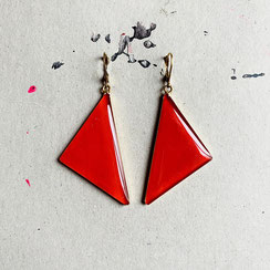 Krawatten Ohrhänger/Earrings 45€