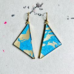 Krawatten Ohrhänger/Earrings 45€ (Click foto to see all)