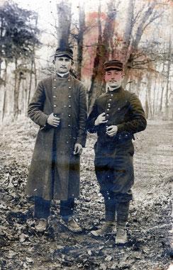Emile Saint-Criq est à droite sur la photo.