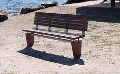 思い出のベンチ