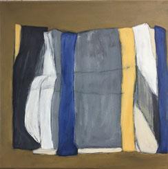 Farbfelder 6, Acryl, 40 x 40 cm, 2018