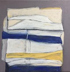 Farbfelder 7, Acryl, 40 x 40 cm, 2018
