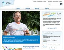 Homepage der Evangelischen Kirche im Rheinland