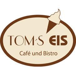 Farbiges Logo von Tom's Eis an der Stübeheide