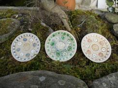 Pottery, celtic, plates. Monte Santa Trega, A Guarda, Pontevedra, Galicia