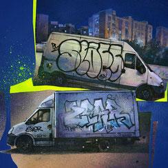 peinture tableau d'art contemporain urbain facade immeuble new-yorkais new-york city cityscape streetart architecture immeuble ancien vintage art urbain graffmatt