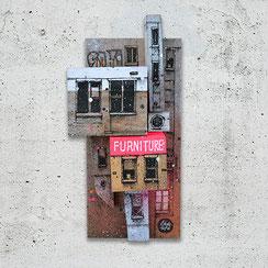 sculpture streetart bois graffiti urbain ville aérien envol maquette art contemporain graffmatt facade newyork palette