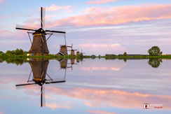 Reflection Kinderdijk