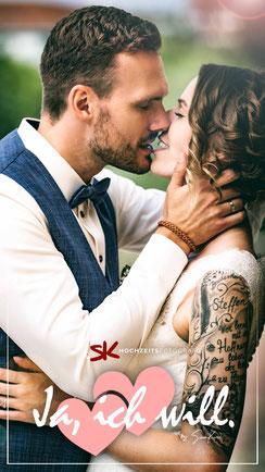 Professionelle Hochzeitsfotos in Hannover, Hamburg und Bremen